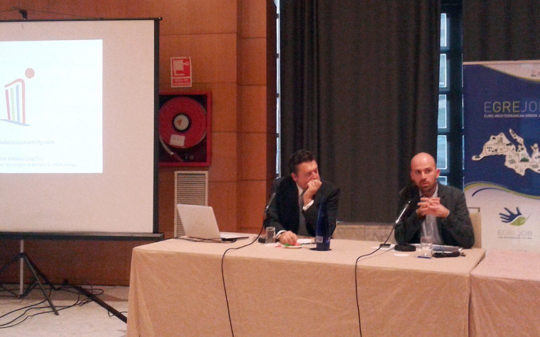 Andalucía Smart City participa en foro europeo sobre creación de empleo verde