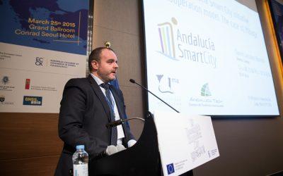 Andalucía Smart City participa en un encuentro sobre innovación e investigación en Corea