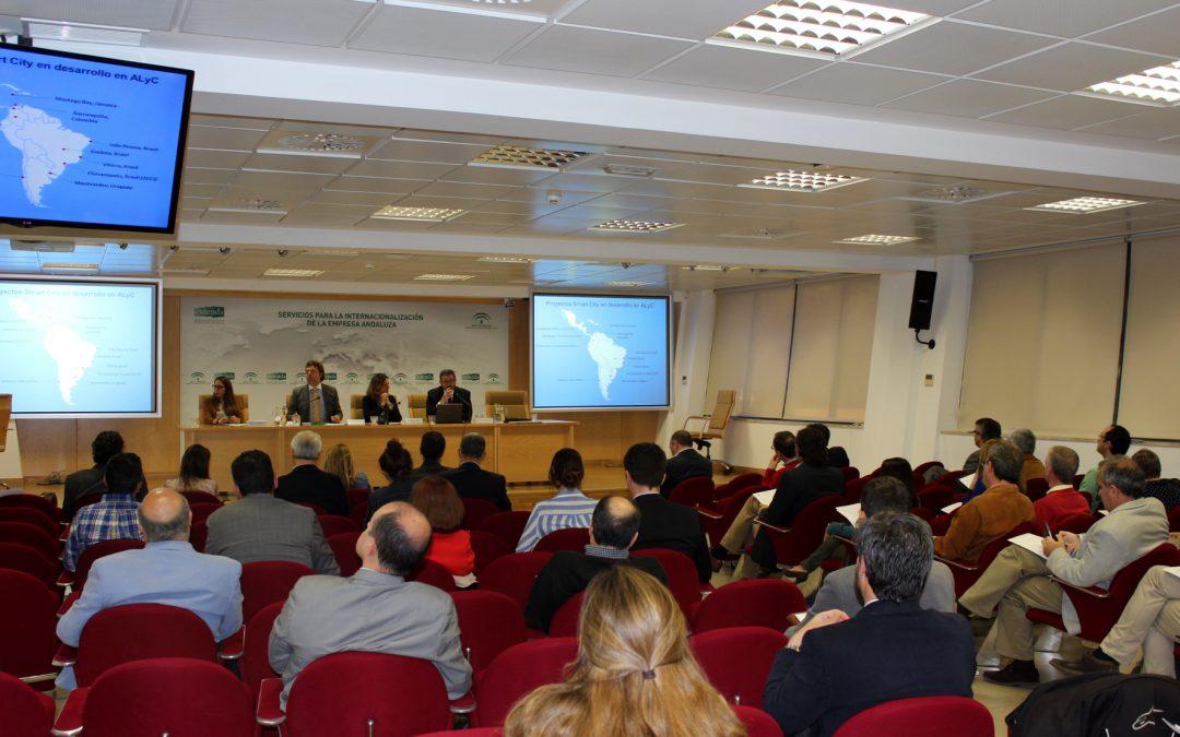 Andalucía Smart City participa en una jornada sobre las oportunidades de negocio de las ciudades inteligentes