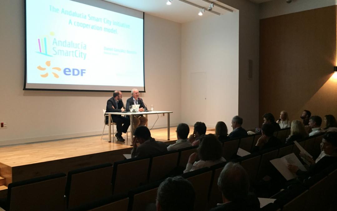 Andalucía Smart City colaborará con entidades francesas para impulsar modelos de ciudades  inteligentes