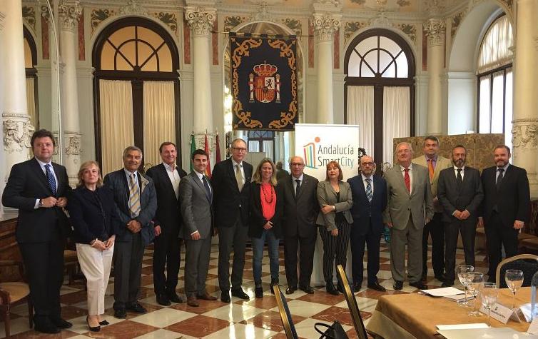 Una delegación del Comité Económico y Social Europeo se fija en Málaga como modelo de smart city