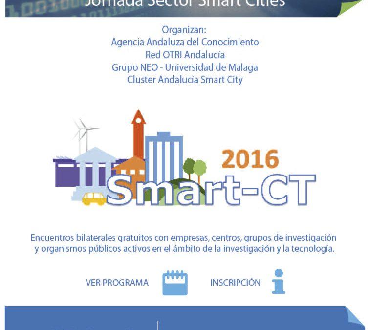 17/06 Jornada de Transferencia de Tecnología, TTAndalucía, en el sector Smart Cities
