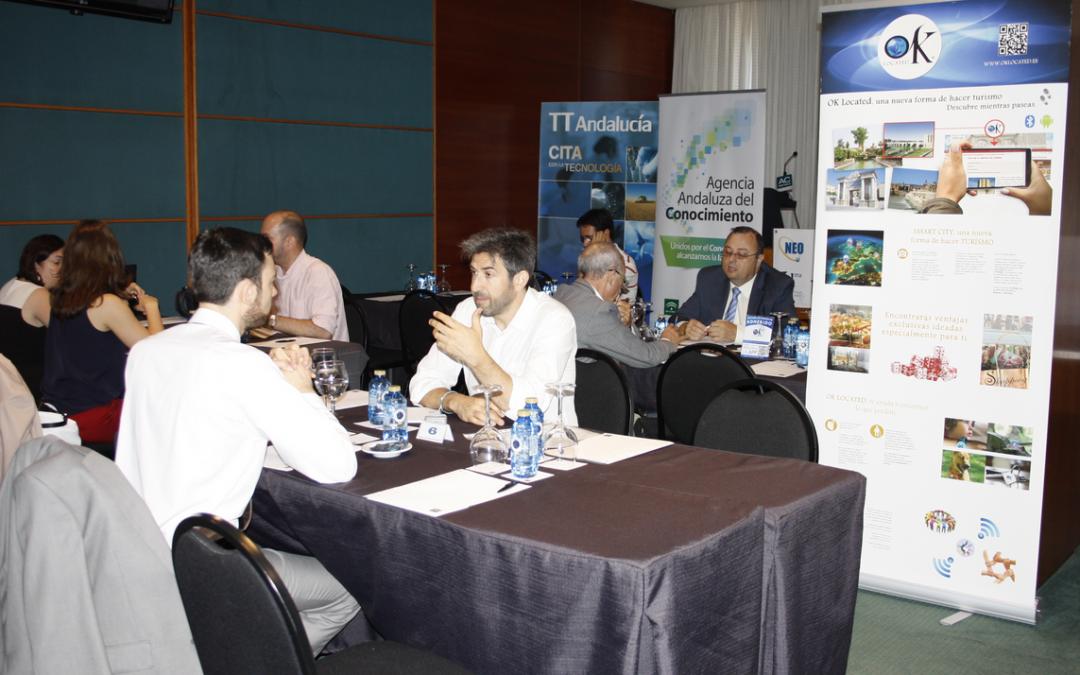 Cerca de 40 entidades del sector de las smart cities se dan cita en una jornada de transferencia de tecnología en Málaga