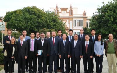 La ciudad china de Shantou se interesa por las soluciones de las empresas del Clúster Andalucía Smart City