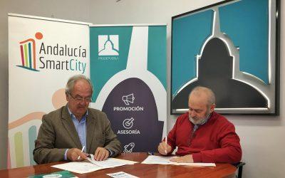 Andalucía Smart City y el Ayuntamiento de La Puebla de Cazalla firman un convenio para desarrollar actuaciones de Ciudad Inteligente