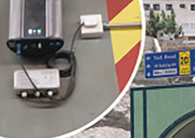 Discomon – OIZOM: Monitorización para la reducción de la contaminación producida por el tráfico en el túnel de Abdul Aziz