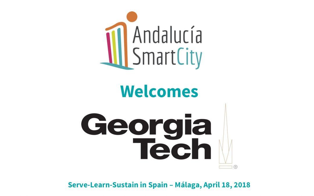 La Universidad de Georgia Tech visita al Cluster Andalucía Smart City para aprender sobre Ciudades Inteligentes