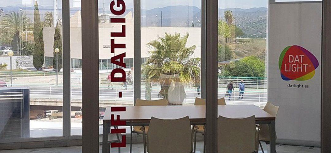 DatLight pone en marcha en Málaga la primera sala LiFi de España