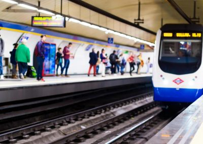 Accenture – Metro of madrid. Digital station 4.0