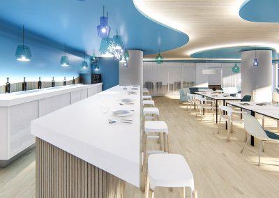Klicstudio – Cafetería Hotel Puente Real