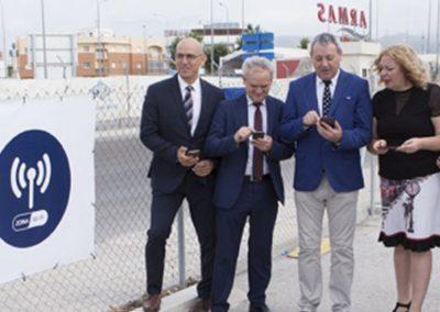 Ingenia – Red Wi-Fi en el Puerto de Motril