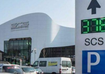 Mobidrive – Smart Parking Sensors: Centro comercial Süd (Viena, Austria)