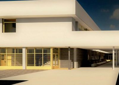 Torrestrella – Basic project of a new school of primary education type C2