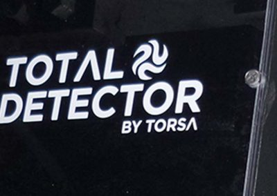 Torsa – Implementation of 12 Total Detector Systems with High Precision module in Antamina