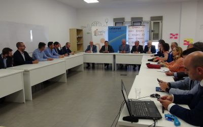 Smart City Cluster participates in a meeting with the City of Linares for its intelligent business development