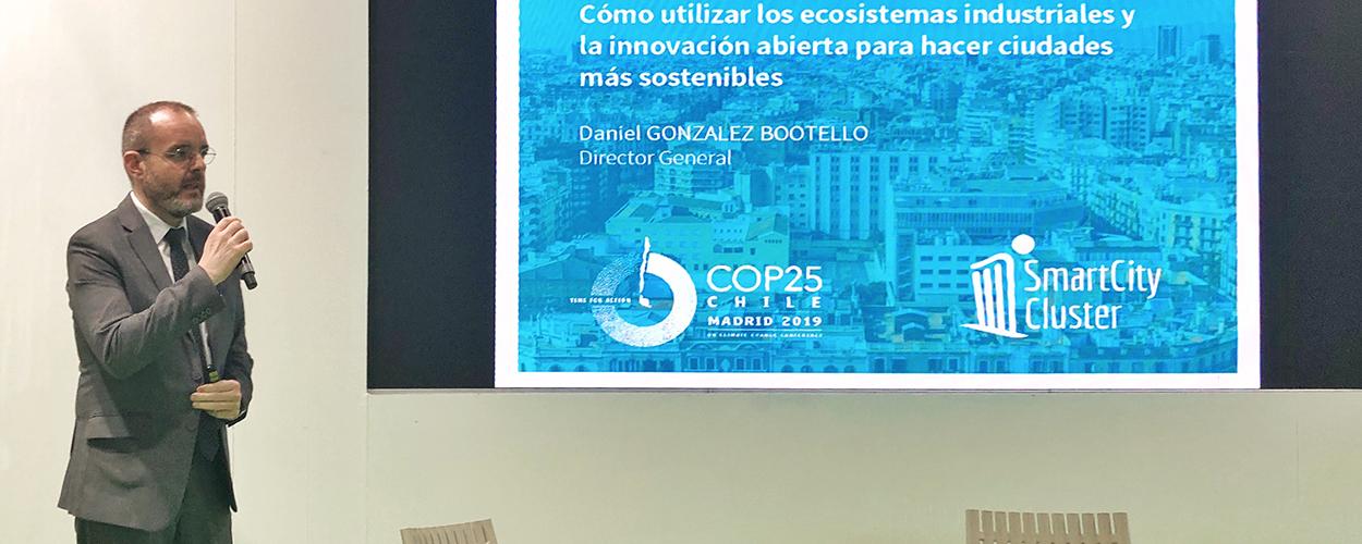 El Clúster Smart City muestra el camino hacia ciudades más sostenibles en la Cumbre del Clima