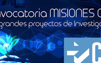"""Programa """"Misiones Ciencia e Innovación"""""""