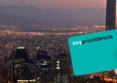 Web Dreams – Tarjeta Vecino de Providencia – Santiago (Chile)