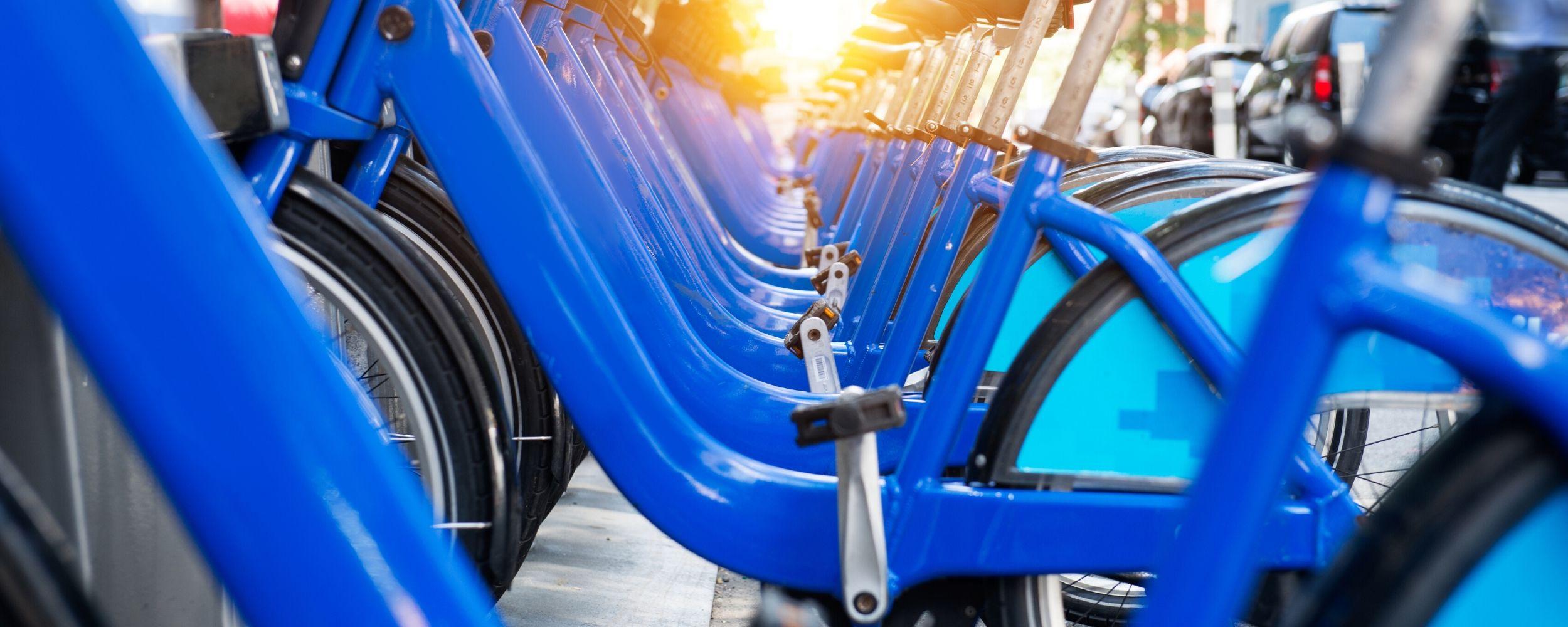 Sistemas de movilidad sostenible: ervicio público de bicicletas
