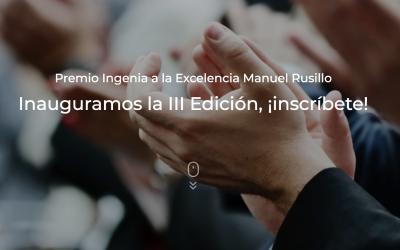 III Edición del Premio Ingenia a la Excelencia Manuel Rusillo
