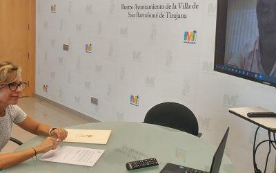 El Clúster Smart City y el Ayuntamiento de San Bartolomé de Tirajana promoverán acciones de ciudad inteligente
