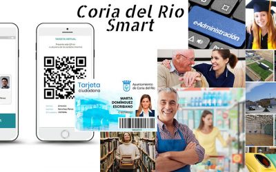 "Coria del Rio implanta la tarjeta ciudadana inteligente: ""CORIA DEL RIO SMART"""