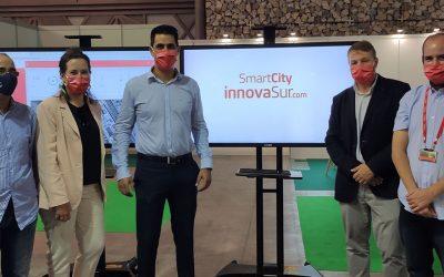 La tecnológica andaluza InnovaSur presenta 'In4City', una plataforma para la gestión integral de soluciones inteligentes que será gratuita para aquellos municipios de menos de 5.000 habitantes que la soliciten