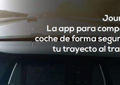 Journify – Carpooling corporativo adecuado al Covid-19 – Grupo Santalucía