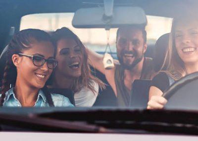 Journify – Sistema de coche compartido para trabajadores y clientes en superficies comerciales – Unibail- Rodamco-Westfield