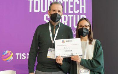 2IXR es premiada en el Touristech Startup Fest