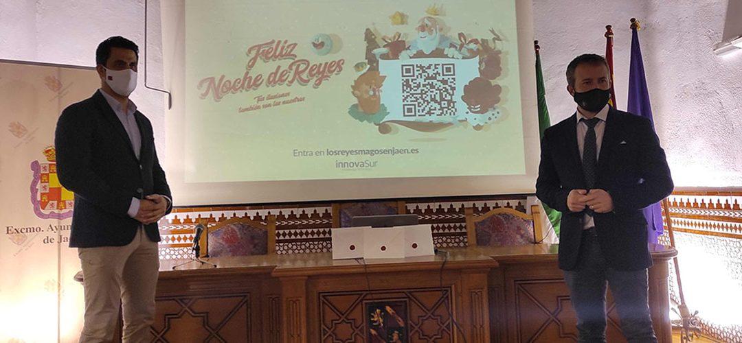 InnovaSur hace entrega al Ayuntamiento de Jaén una aplicación innovadora para que las familias jienenses puedan contactar directamente con los Reyes Magos