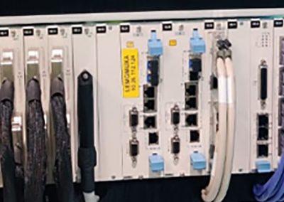 Grupo Inte – Instalación de fibra y equipamiento del anillo de comunicaciones de Navegación aérea en los aeropuertos de Málaga y Gran Canaria