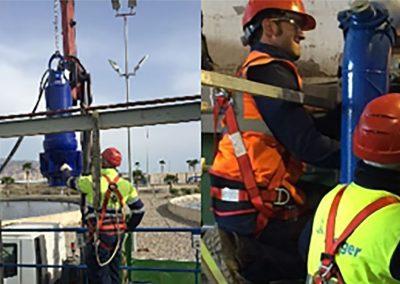 Merger Ingeniería – Instalación de estaciones de bombeo en EDAR y monitorización en SCADA