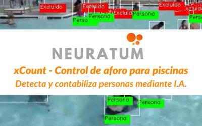 Control de aforo para piscinas x-Count por Inteligencia Artificial