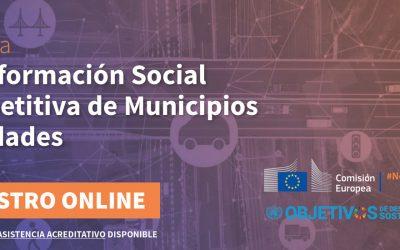 El Clúster Smart City anuncia Jornada sobre Transformación Social Competitiva de Municipios y Ciudades