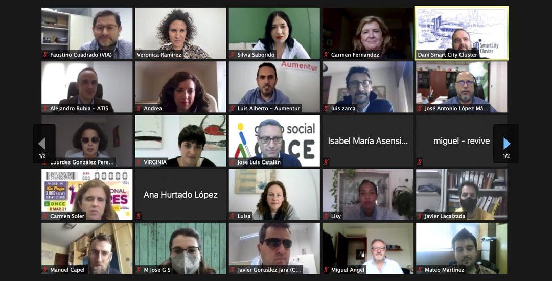 El Clúster celebra la jornada tecnología accesible para todos