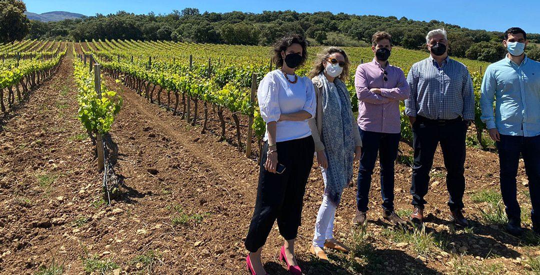 Primeros pasos en el piloto del Proyecto Europeo Life+WineGRover