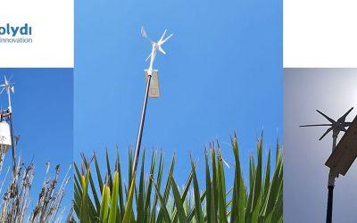 El uso de las energías renovables en la iluminación. Solydi, empresa malagueña, instala luminarias solares y eólicas en San Fernando, Cádiz.