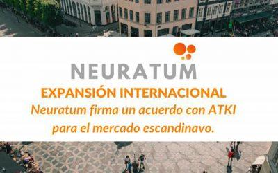 Neuratum firma un acuerdo con ATKI para el mercado escandinavo