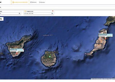 Enerclic – Sistema de monitorización de las plantas fotovoltaicas de los aeropuertos de AENA