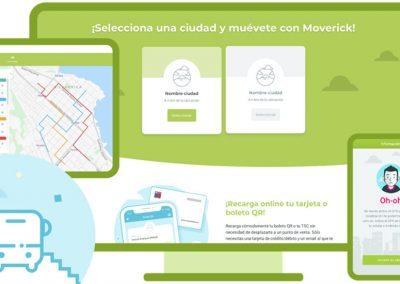 Nosolosoftware – Moverick – PLATAFORMA PARA MEJORAR LA EFICIENCIA DEL TRANSPORTE PÚBLICO Y FACILITAR EL FLUJO DE INFORMACIÓN DEL USUARIO