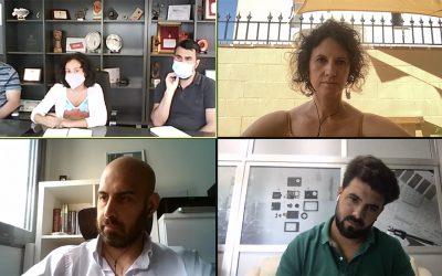 Ayuntamiento de Onda y el Clúster  mantienen una sesión de trabajo conjunta en el ámbito de la seguridad ciudadana