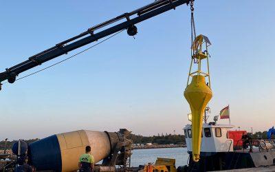 Una boya inteligente medirá la calidad de las aguas a tiempo real en el litoral portuense