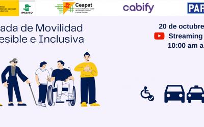 Ceapat-Imserso, Cabify y Park4Dis organizan una jornada formativa para fomentar la movilidad accesible e inclusiva