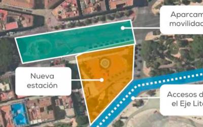 Málaga da un paso más en el diseño de la estación subterránea de la Plaza de la Marina